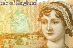 Summer exhibition of BoE: New Jane Austen £10 banknote