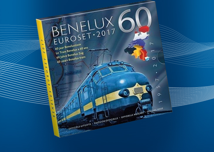 The annual Benelux coins set