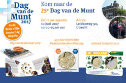 2017 Netherland's Day of the Mint – June the 10th