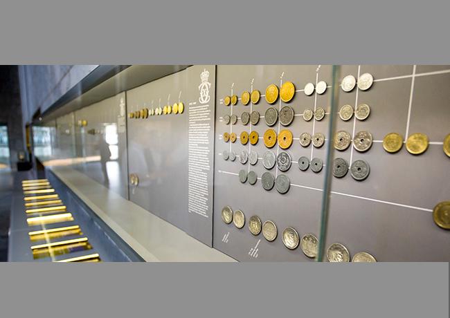 Exposition permanente de pièces au Danemark