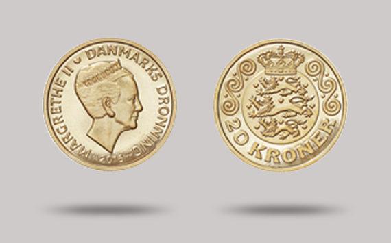 La Monnaie de Finlande frappe pour le Danemark