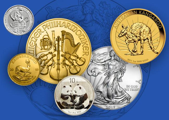 Les Bullion coins, Eldorado pour les Monnaies nationales ?