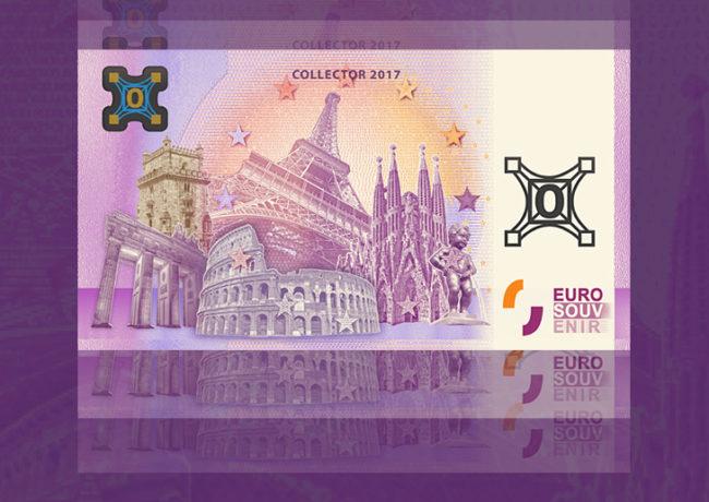 Richard FAILLE, créateur des billets zéro euro souvenir touristique, frappe à nouveau !