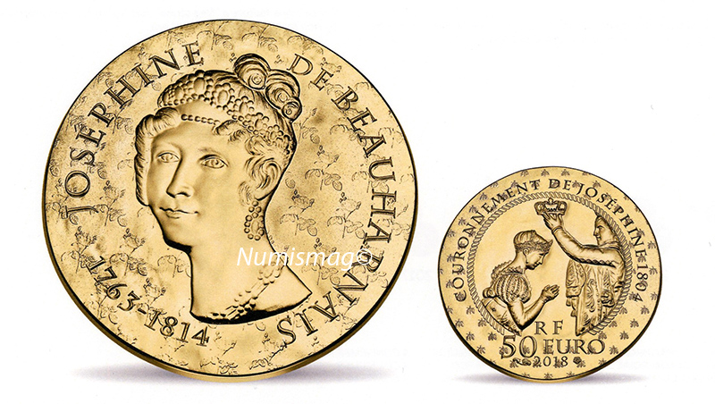 50 euro Or Joséphine de Beauharnais - 2018 Monnaie de Paris-Les femmes qui ont marqué l'histoire de France