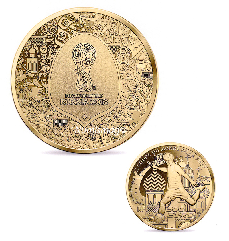 monnaie de paris piece coupe du monde