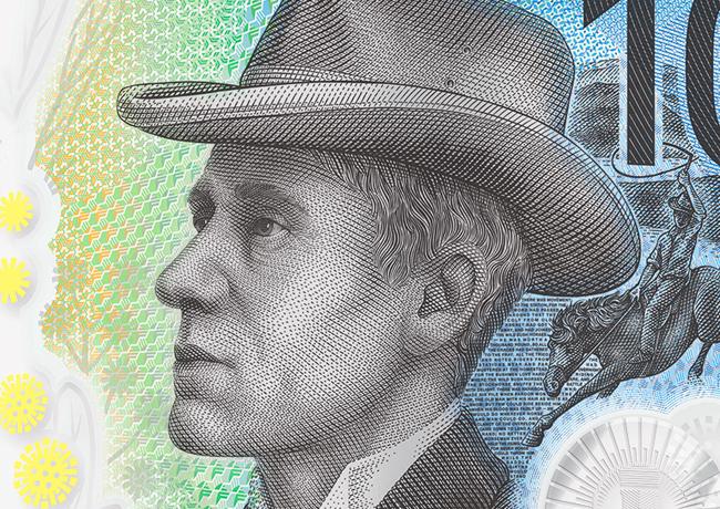 2017 New australian 10 dollars banknote