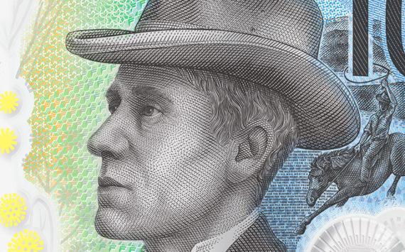 Nouveau billet de 10 dollars australiens 2017 – Andrew Barton Banjo Paterson