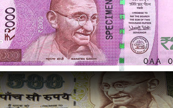 India, after 500 and 1000 roupees banknotes withdraw