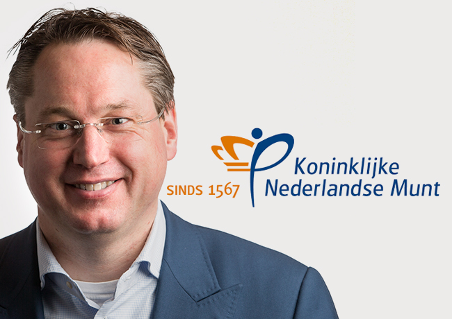STEPHAN SATIJN, new KNM mintmaster