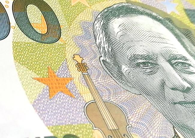 Le billet de 100 euros «Wolfgang Schäuble» – l'étonnant cadeau de la Slovaquie