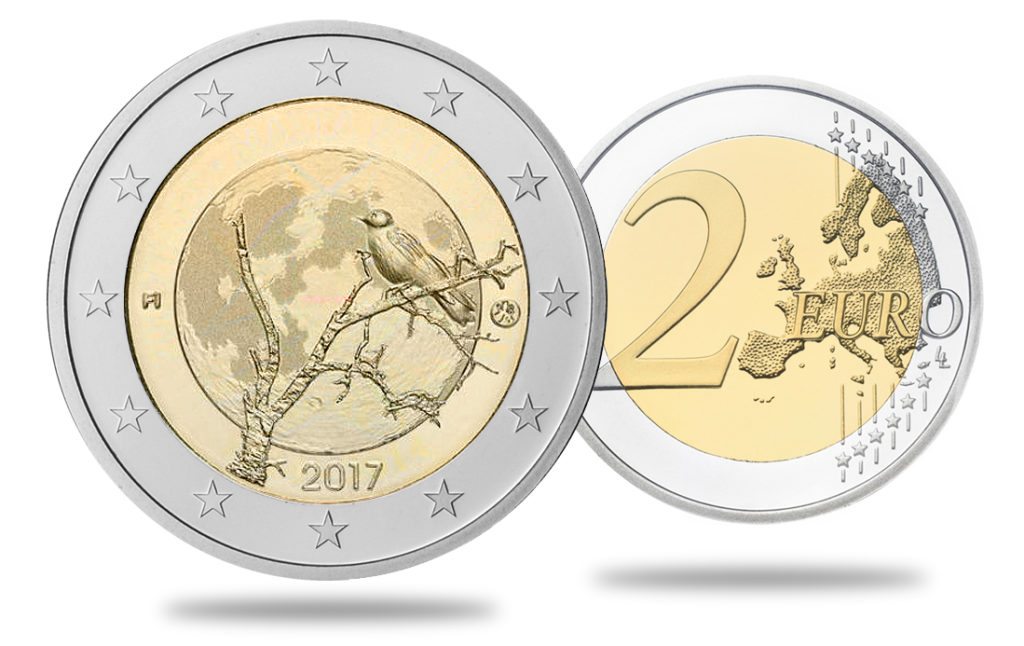 2017 Finland €2 commemorative coin - Nature of Finland