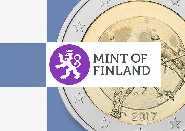 2€ commémorative 2017 – La Nature finlandaise