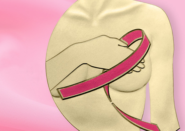 France: €2 commemorative coin dedicated to fight against breast cancer