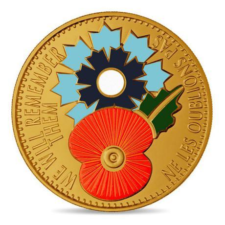 Petite médaille le Bleuet - Poppy - La grande guerre 1918 2018