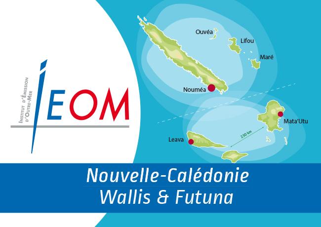 Les émissions monétaires de la Nouvelle-Calédonie, Wallis & futuna – Période IEOM