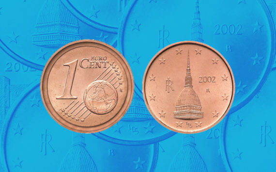 Italy How Much Worth Today The 2002 One Cent Mole Antonelliana Error Coin