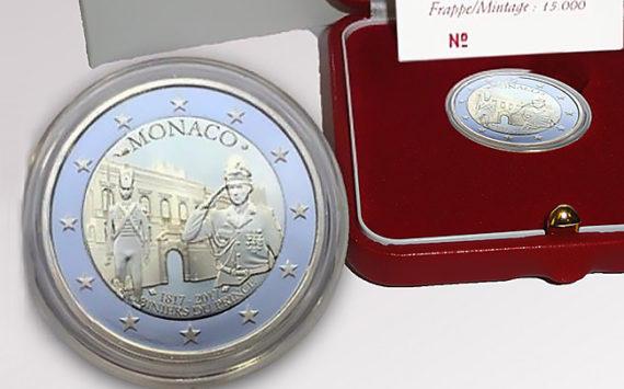 2€ MONACO 2017 – 200 ème anniversaire de la compagnie des carabiniers