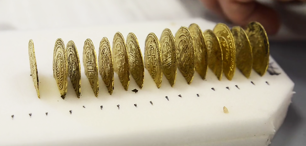 Dinar - Stunning hoard discovered in CLUNY ABBEY, FRANCE