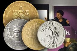 Les résultats de la vente de la collection de Piéforts d'Hubert Larivière, ancien graveur général de La Monnaie de Paris