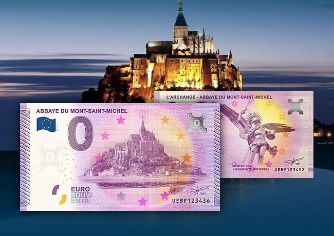 Les billets zéro euro touristiques de Richard FAILLE sur France 5