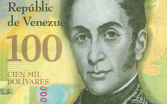Le nouveau Billet de 100 000 Bolivars du VENEZUELA – Risque de confusion sur sa valeur faciale