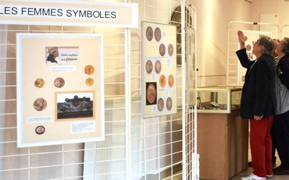 Exposition 2017 du CNA – Représentation de la femme en numismatique