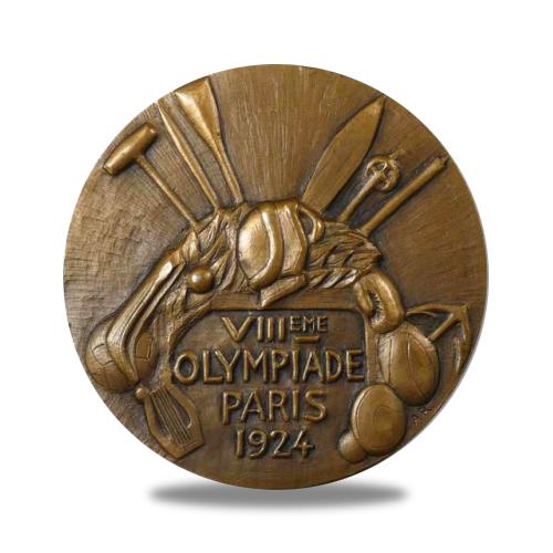 Médailles de la 8ème Olympiade de Paris 1924 par André Rivaud