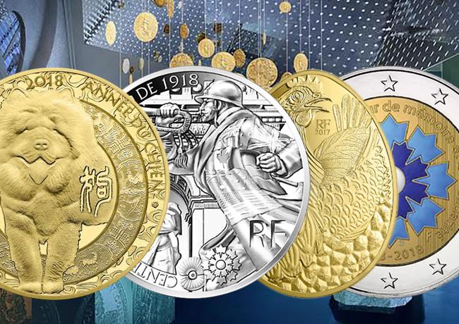 Programme Monnaie de Paris 2018 – Mise à jours