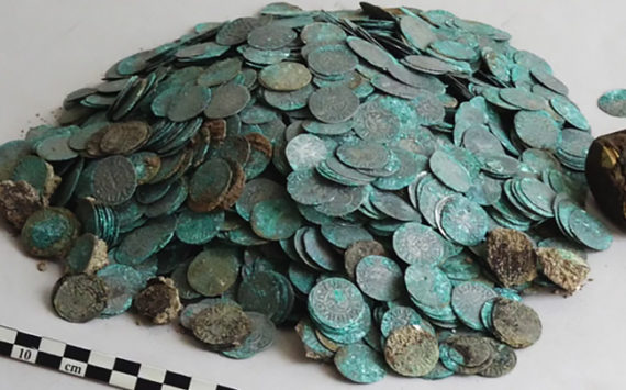 Stunning hoard discovered in CLUNY ABBEY, FRANCE