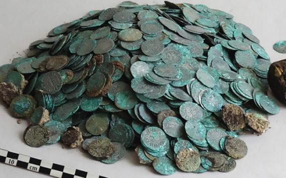 Découverte d'un trésor numismatique à L'abbaye de Cluny