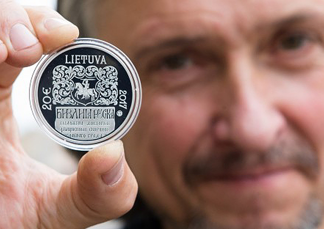 ROLANDAS RIMKUNAS, major lituanian coin designer and artist