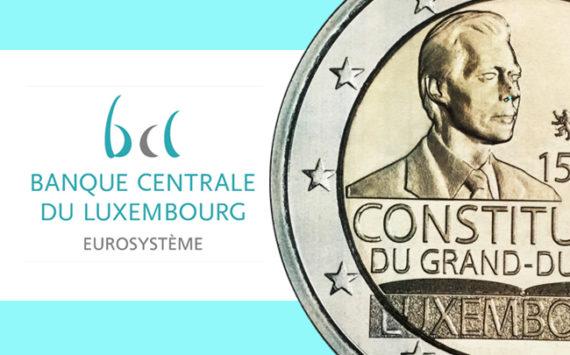 2€ 2018 commémorant le 150e anniversaire de la Constitution luxembourgeoise