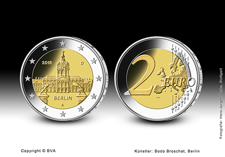 2018 €2 commemorative coin Land of BERLIN