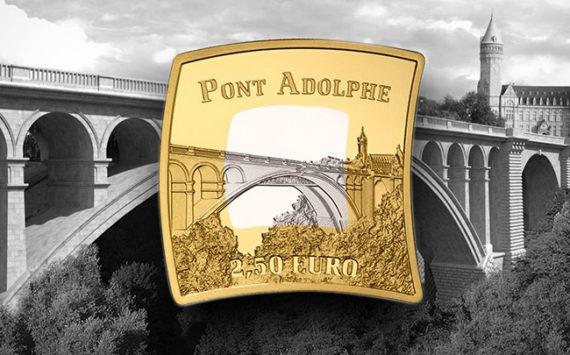 Luxembourg – Nouvelle pièce de 2.5 euro Pont Adolphe et 2 euro GUILLAUME III 2017