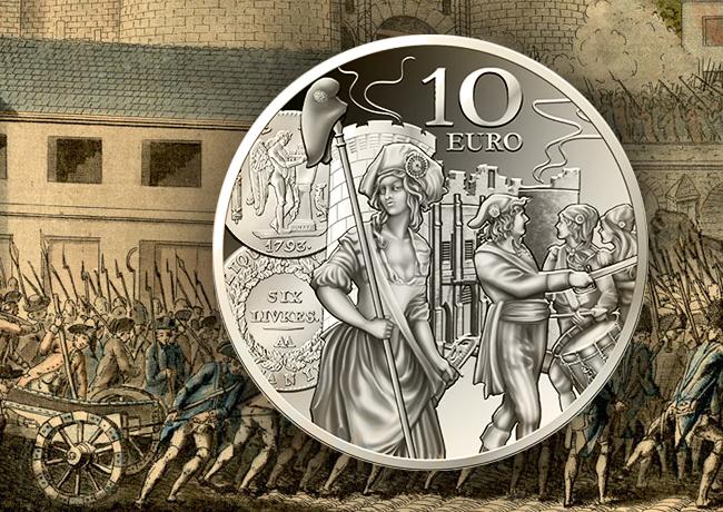 L'écu de 6 Livres – 10 Euros Argent 2018 – programme 2018 monnaie de Paris