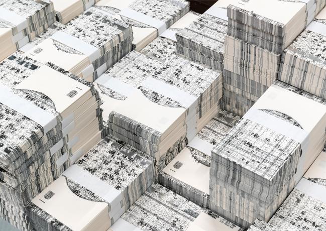 Quand l'art comtemporain s'empare du Billet de Banque – Exposition Michael Riedel – Bundesbank