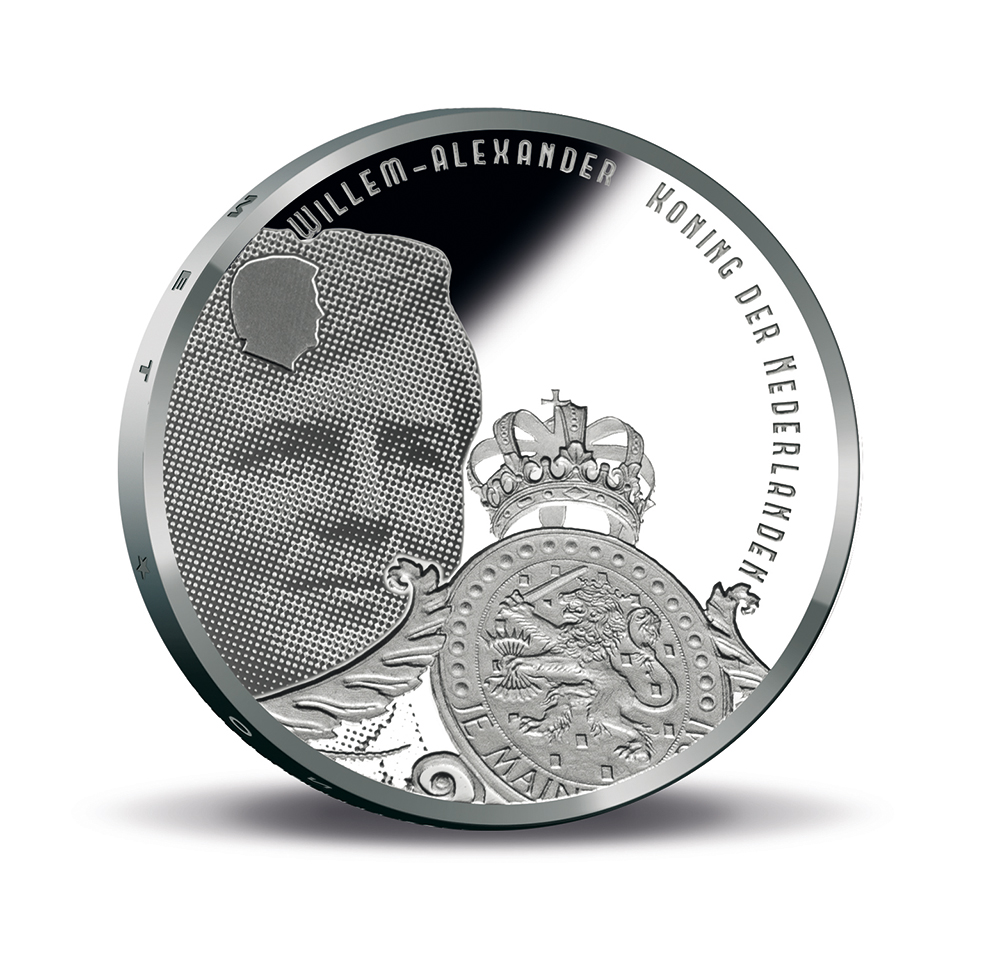 Stelling van Amsterdam 5 euro - Defence line of Amsterdam, KNM 2017 commemorative coinages