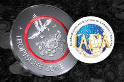 Polymer Coin Wins IACA Award for Best Coin Innovation – 5 Euro coin 2017-TropischeZone