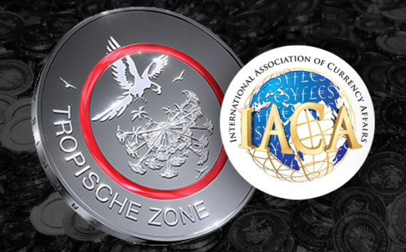 Polymer Coin Wins IACA Award for Best Coin Innovation – 5 Euro coin 2017-TropischeZone