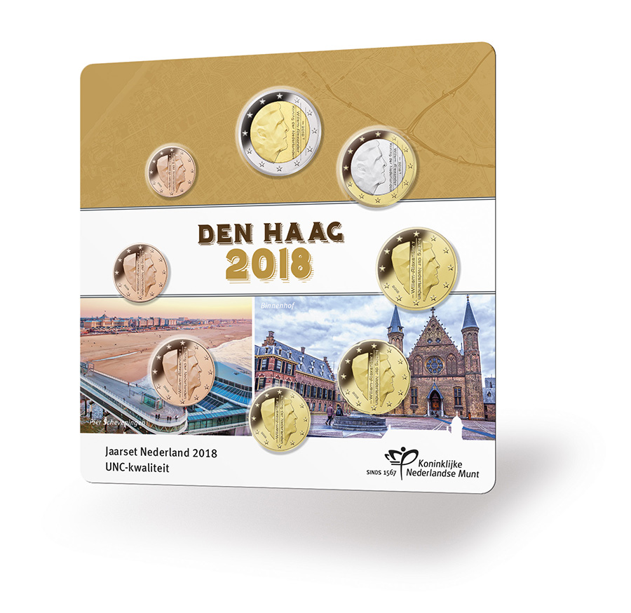 Coffret annuel UNC 2018 Pays-Bas