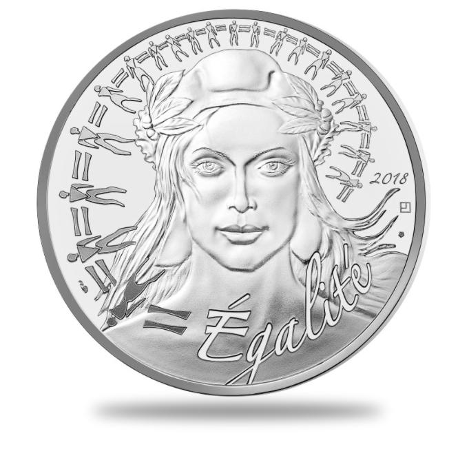 20€, 100€ Argent Marianne 2018 - Monnaie de Paris programme 2018