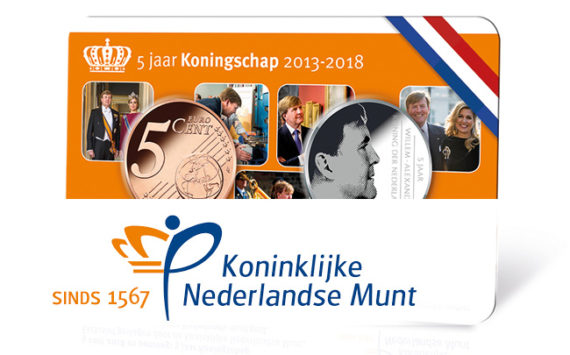 Programme numismatique de la Monnaie des Pays Bas 2018