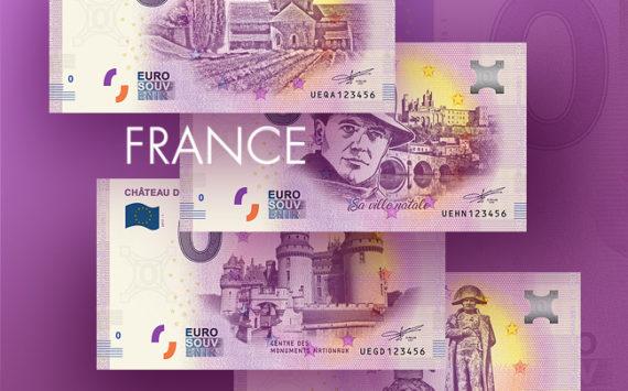 Les billets zero euro souvenir touristique 2018 – nouveautés