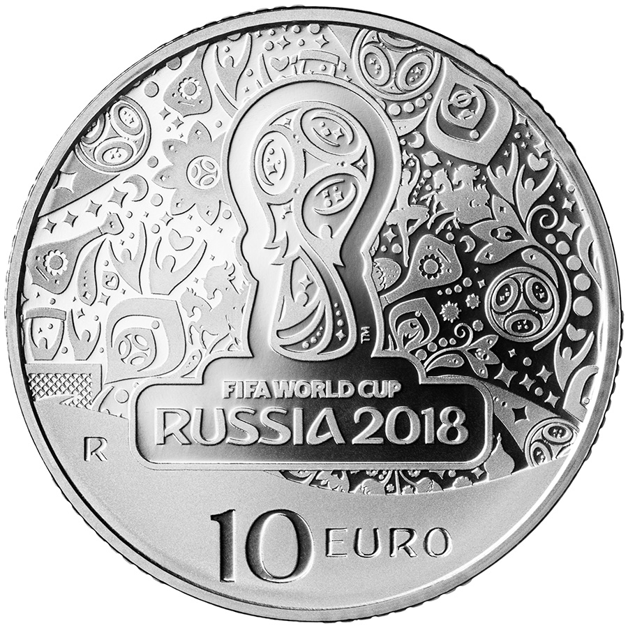 €10 - FIFA World Cup Russia 2018 italy 2018