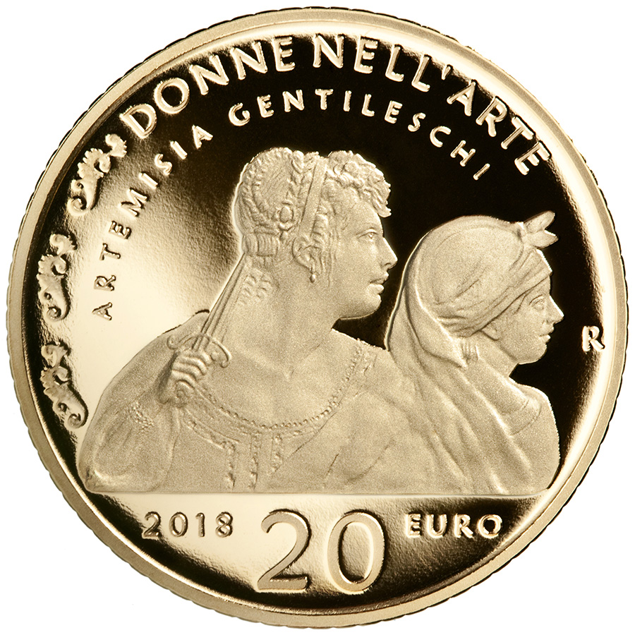 20 euro Artemisia Gentileschi - Women in Art Series italy 2018