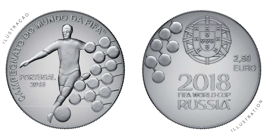 €2,5 – 2018 Russia football World Cup