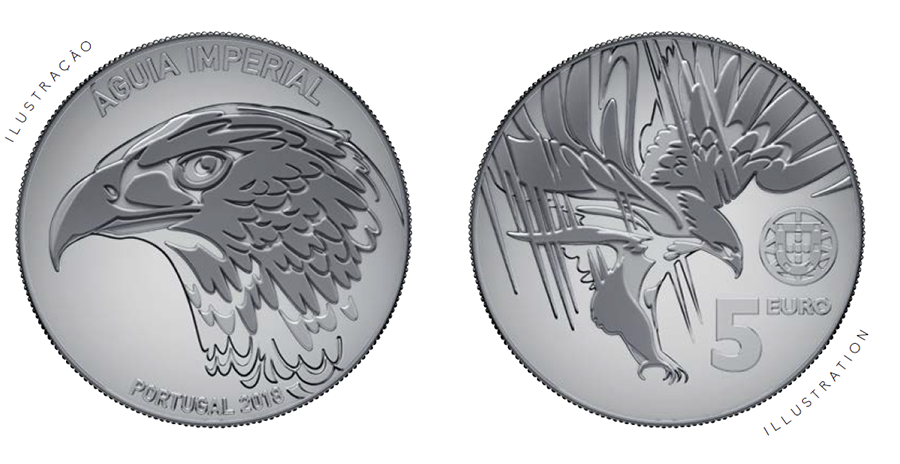 €5 Imperial eagle portugal 2018