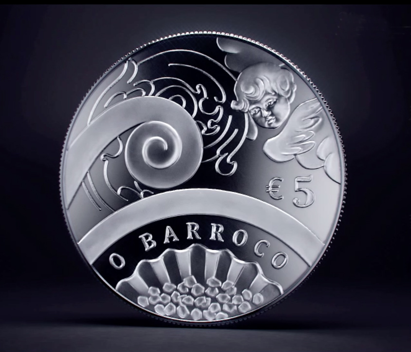 €5 2018 Europa star – Baroque age