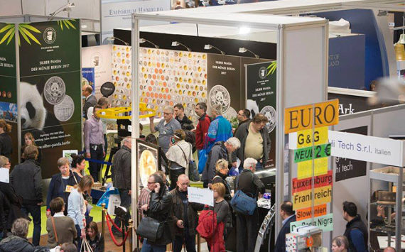 2018 BERLIN WORLD MONEY FAIR: the coin collector MECCA