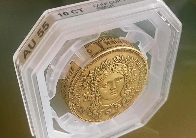 Un challenger Français dans le monde du «grading» numismatique